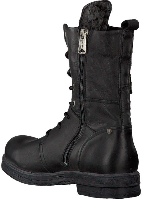Zwarte REPLAY Veterboots CLETIC  - large