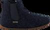 Blauwe LIVING KITZBUHEL Pantoffels 3064  - small