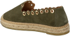 Groene KANNA Espadrilles KV8007 - small