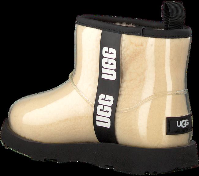 Beige UGG Vachtlaarzen CLASSIC CLEAR MINI II - large