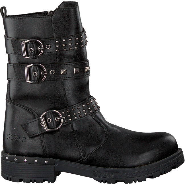Zwarte GUESS Bikerboots JULIA KIDS  - large