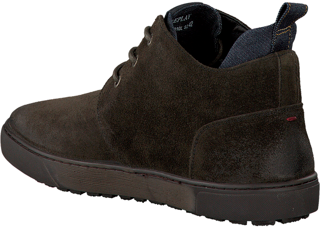 Bruine REPLAY Sneakers MALBY  - large