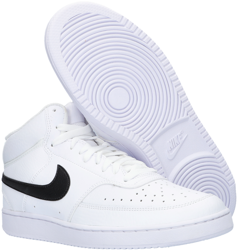 Witte NIKE Lage sneakers COURT VISION MID  - larger
