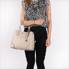 Beige MICHAEL KORS Handtas MD CENTER ZIP TOTE - small