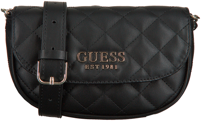 Zwarte GUESS Heuptas MELISE MINI  - large