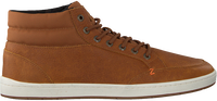 Cognac HUB Hoge sneaker INDUSTRY 2.0  - medium