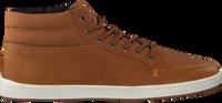Cognac HUB Hoge sneaker INDUSTRY 2.0  - medium