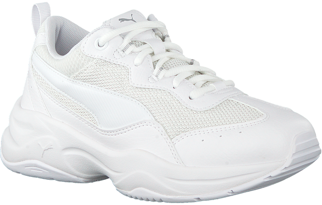 Witte PUMA Sneakers CILIA  - large
