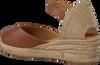 Bruine UNISA Espadrilles CISCA  - small