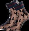 Zwarte MARCMARCS Sokken FLOWER LUREX CUFF - small