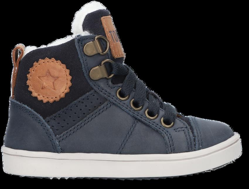 Blauwe TON & TON Hoge sneaker ARVID  - larger