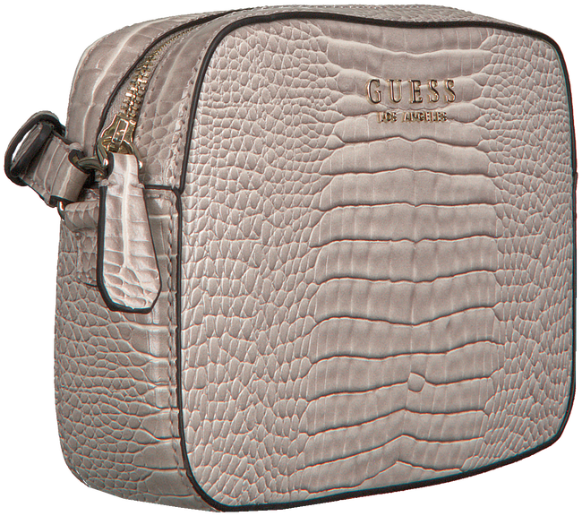 Roze GUESS Schoudertas KAMRYN CROSSBODY TOP ZIP  - large