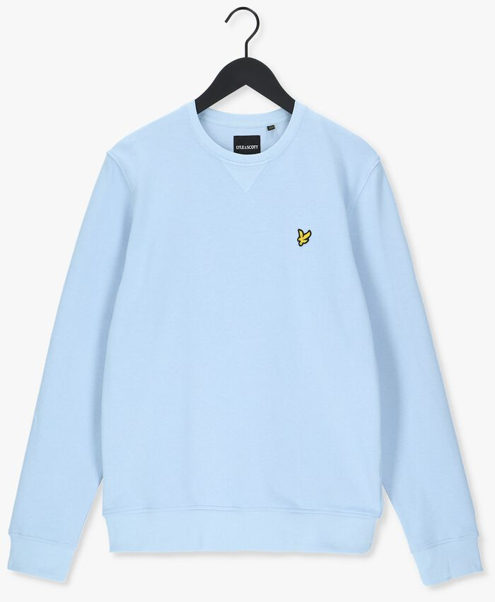 Blauwe LYLE & SCOTT Sweater CREW NECK SWEATSHIRT - larger