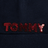 TOMMY HILFIGER  Muts PATCH KNIT BEANIE  - small