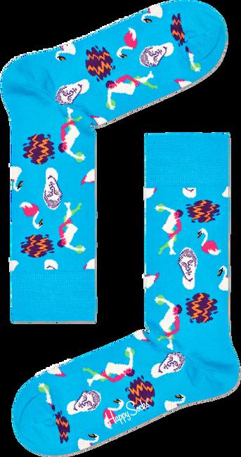 Blauwe HAPPY SOCKS Sokken PARK TURKOS SOCK  - large