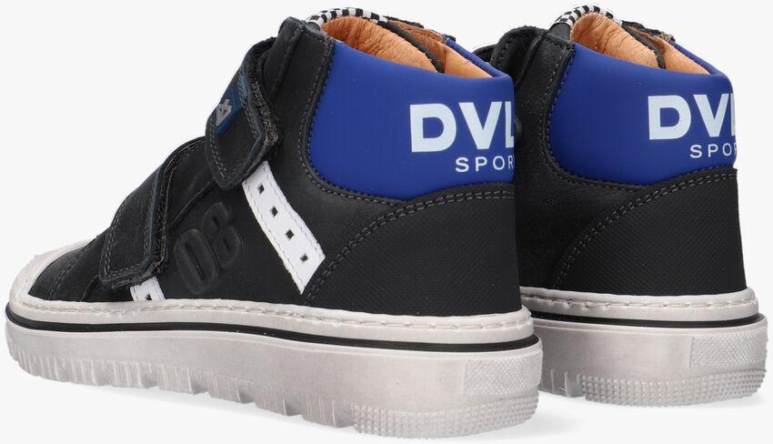 Zwarte DEVELAB Hoge sneaker 41927  - larger