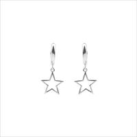 Zilveren ATLITW STUDIO Oorbellen SOUVENIR EARRINGS STAR - medium