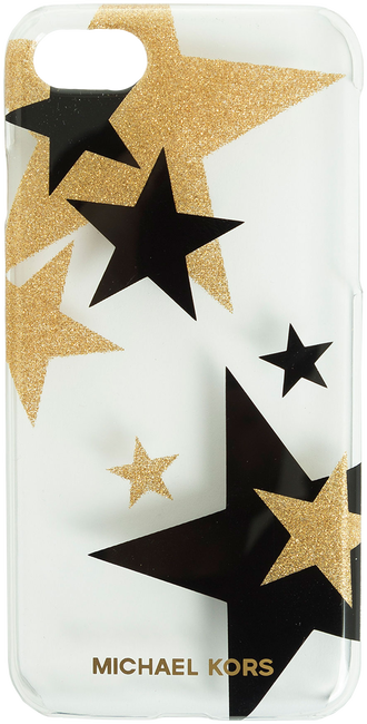 Noir Michael Kors Couverture Phn Pochette Téléphone 7 Lettres JP30b