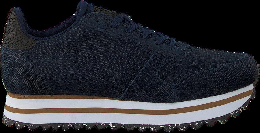 Blauwe WODEN Lage sneakers YDUN PEARL II PLATEAU  - larger