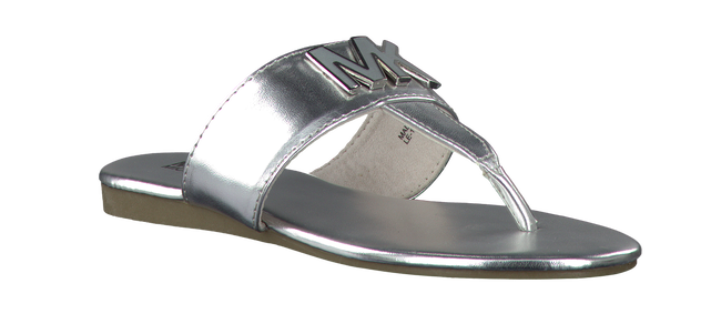 Zilveren MICHAEL KORS Slippers D.BECCA  - large