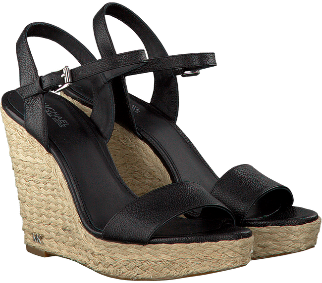 Zwarte MICHAEL KORS Sandalen JILL WEDGE - large