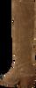 Bruine BRONX Lange laarzen LOW-KOLE 14186  - small