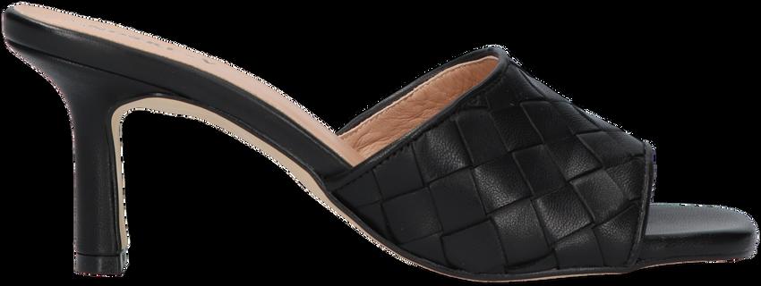 Zwarte NOTRE-V Slippers 23926  - larger