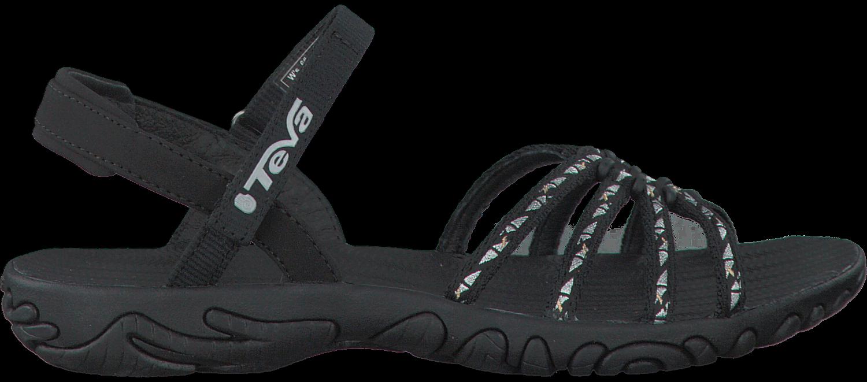 Teva Chaussures Noires Avec Velcro Pour Les Femmes hlrcDBQNDD