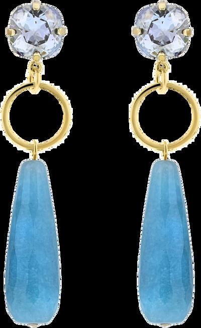 Blauwe JEWELLERY BY SOPHIE Oorbellen LUXURY EARRINGS - large