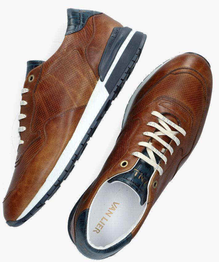 Cognac VAN LIER Lage sneakers 2157549  - larger
