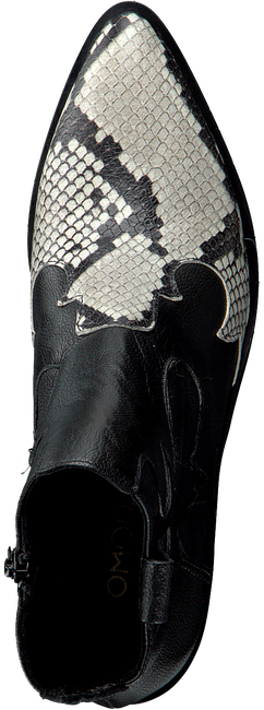 Zwarte OMODA Enkellaarsjes AG395  - large