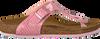 Roze BIRKENSTOCK PAPILLIO Slippers GIZEH KIDS  - small