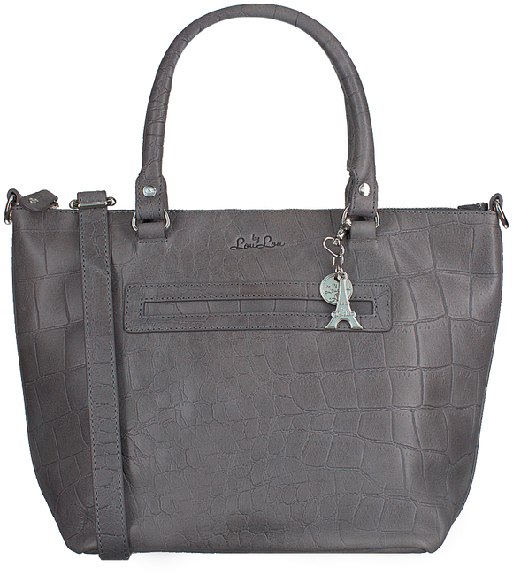 Grijze BY LOULOU Handtas 04BAG04S - large