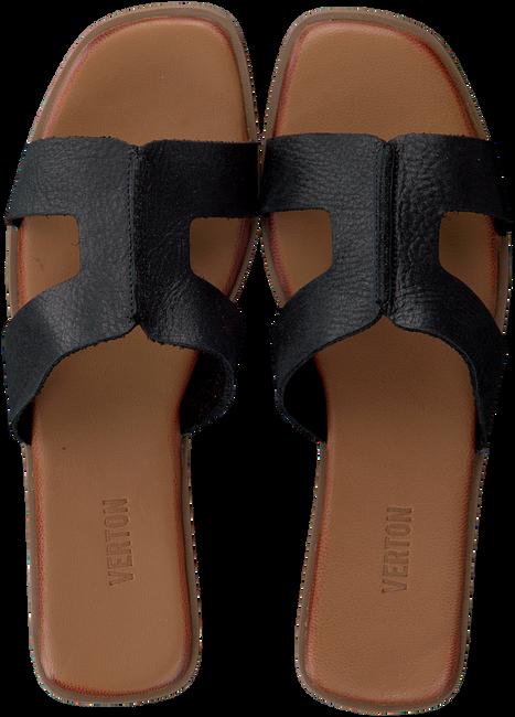 Zwarte VERTON Slippers T-10161  - large