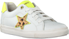 Witte BRAQEEZ Lage sneakers LEIGH LOUWIES  - small