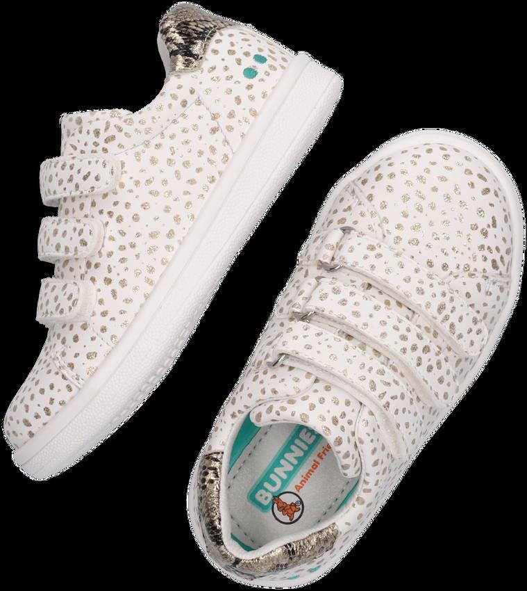 Witte BUNNIES JR Lage sneakers 220140  - larger