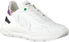 Witte WOMSH Lage sneakers WAVE WHITE SHINY  - small