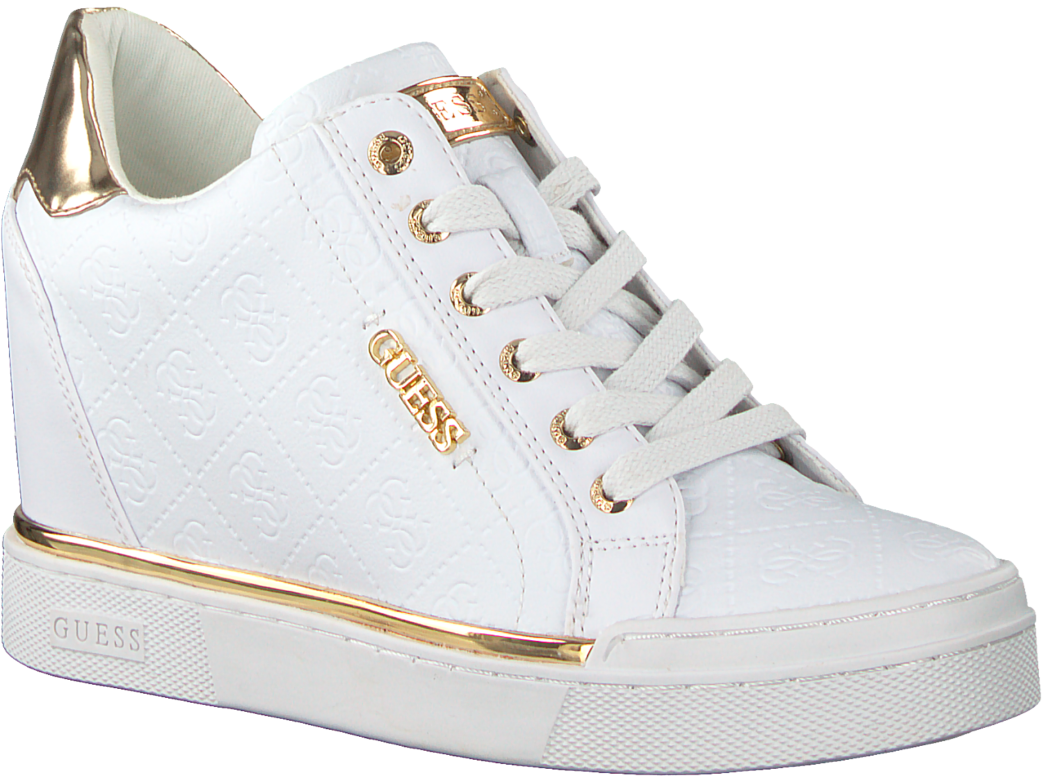 ecab8230321 Witte GUESS Sneakers FLOWURS STIVALETTO. GUESS. Previous