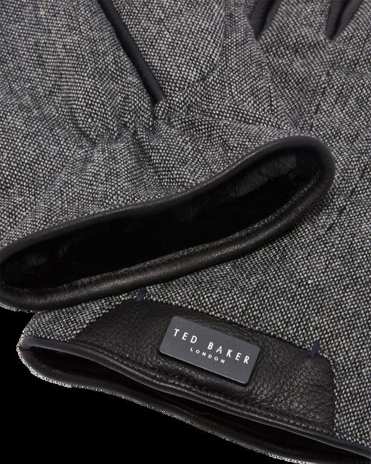 Grijze TED BAKER Handschoenen SLICK - large