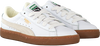 Witte PUMA Sneakers BASKET CLASSIC GUM DELUXE JR - small