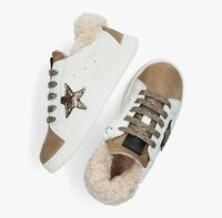 Witte CLIC! Lage sneakers CL-20453  - medium