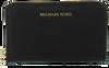 Zwarte MICHAEL KORS Portemonnee LG FLAT MF PHONE CASE - small