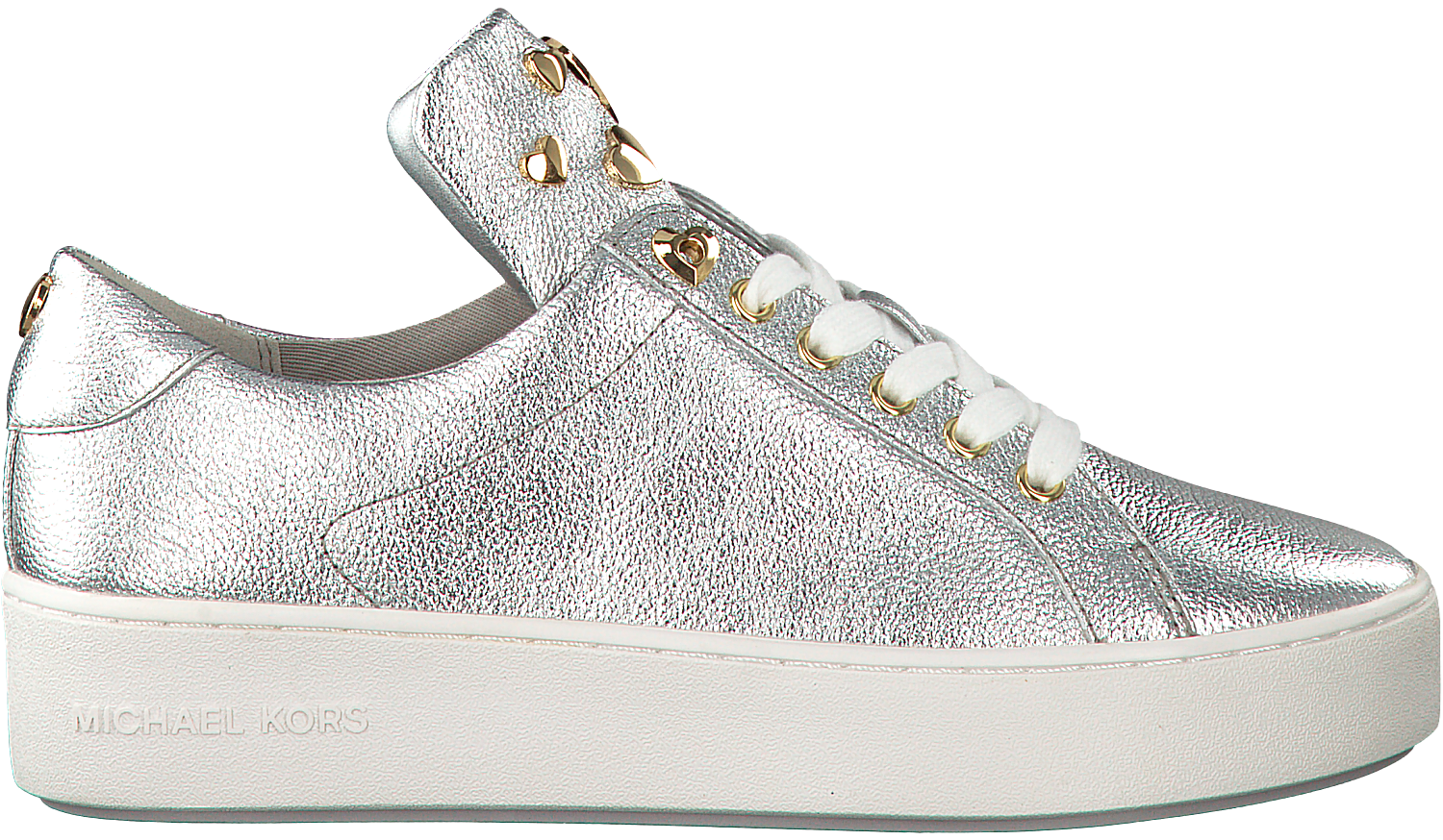 4a0599e1bac Zilveren MICHAEL KORS Sneakers MINDY LACE UP - Omoda.nl