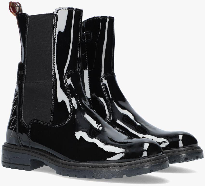Zwarte RED-RAG Chelsea boots 12118  - larger