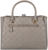 Taupe GUESS Handtas PEONY CLASSIC GIRLFRIEND CARRY  - small