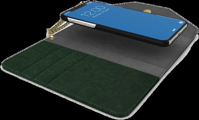 Groene IDEAL OF SWEDEN Telefoonhoesje MAYFAIR CLUTCH VELVET S9 PLUS - large