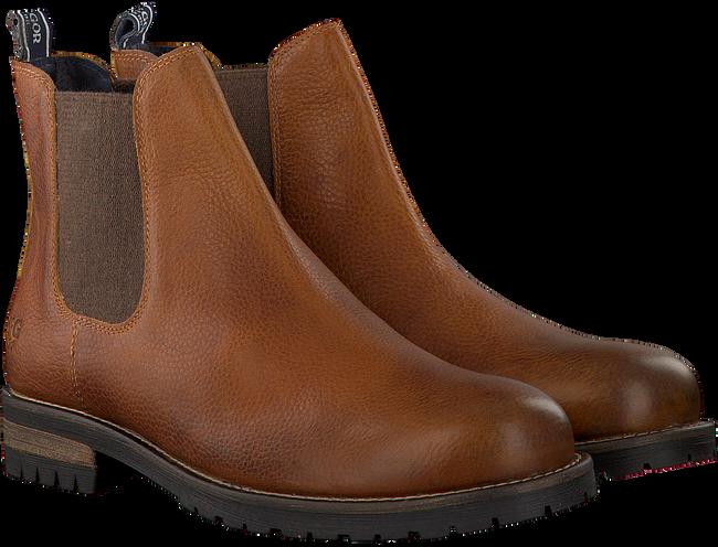 Cognac MCGREGOR Chelsea boots CRESTONE  - large
