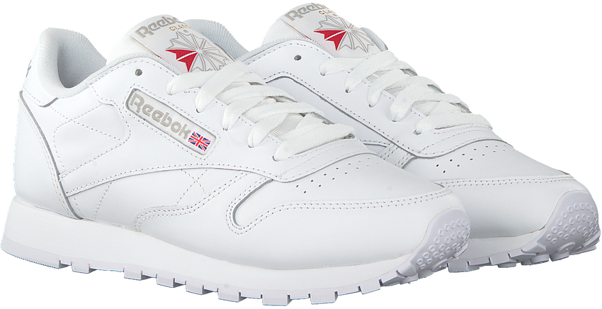 Witte REEBOK Sneakers CL LEATHER WMN - larger