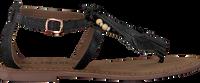 Zwarte LAZAMANI Sandalen 75.539 - medium