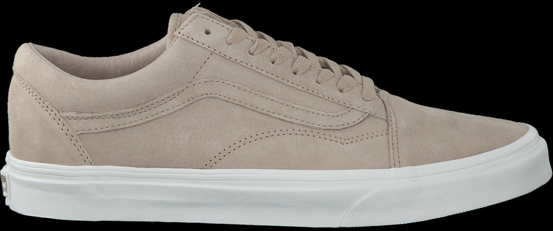 beige vans sneakers old skool premium
